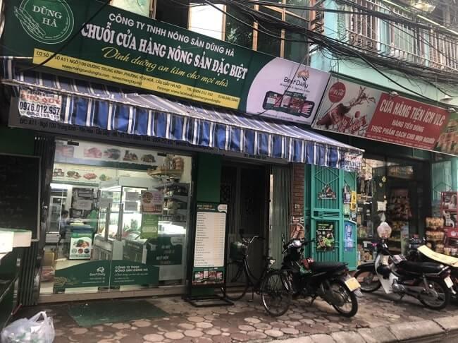 cửa hàng trung kính