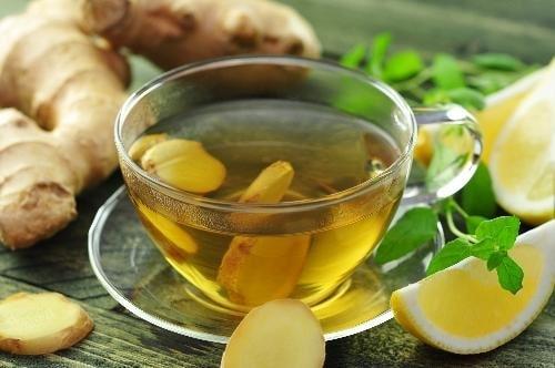 đau đầu chóng mặt nên uống gì ? uống trà gừng để giảm đau đầu chóng mặt