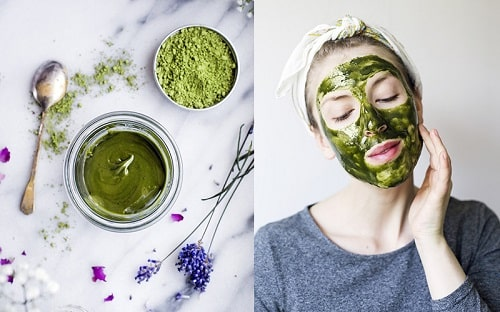 Không nên đắp mặt nạ trà xanh mỗi ngày