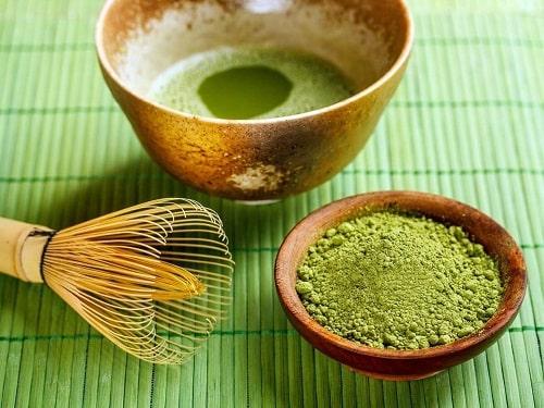 Mặt nạ trà xanh và nước vo gạo