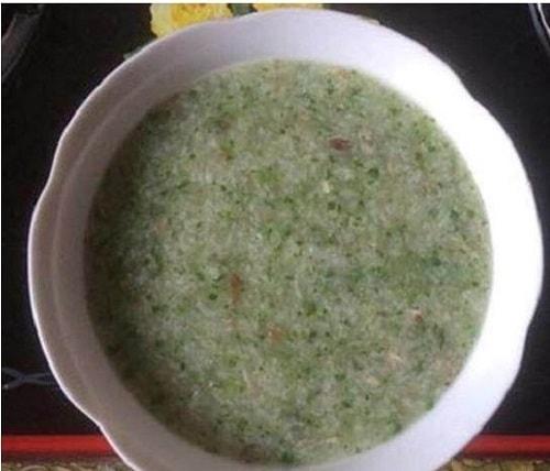 cháo lươn nấu với rau gì