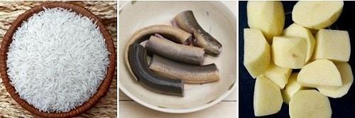 nấu cháo lươn cho bé ăn dặm