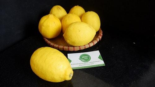 trái chanh vàng