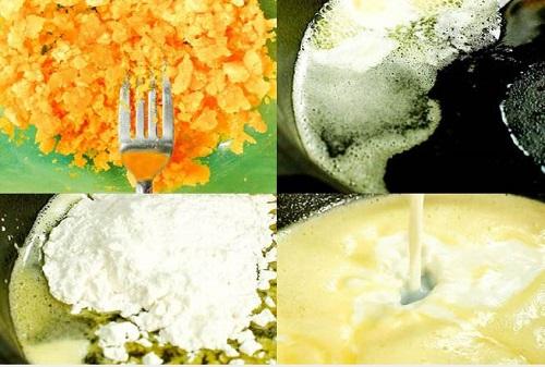 cách làm sốt trứng muối