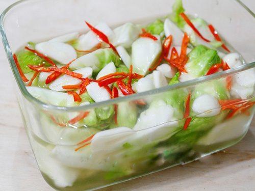 Món ăn hấp dẫn với mầm đá - Đặc sản xứ lạnh Sapa