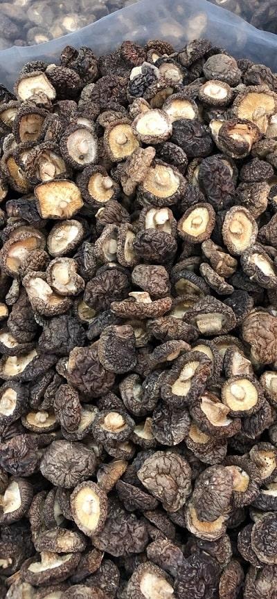 nấm hương mũ khô loại 1