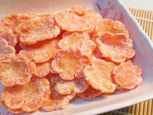 mứt cà rốt dẻo