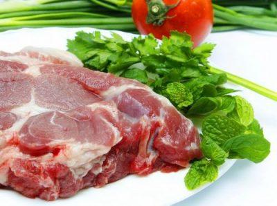 thịt lợn nạc vai
