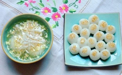 Bánh chay và bánh trôi Hà Nội