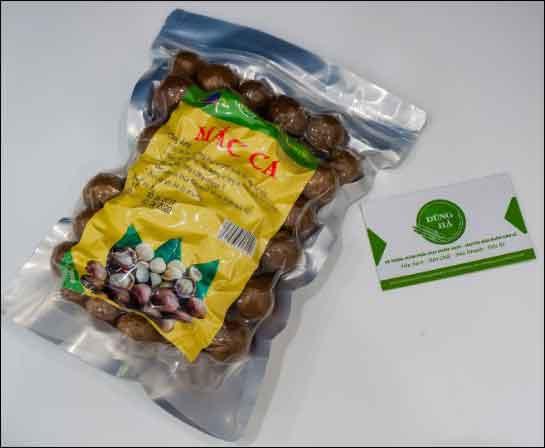 Hạt mắc ca Mỹ – 500gr/gói