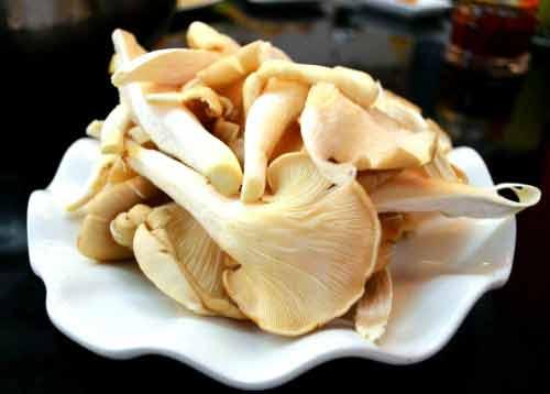 Nấm sò trắng chiên - món ăn được nhiều người yêu thích
