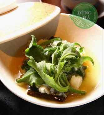 Món súp rau bông tuyết