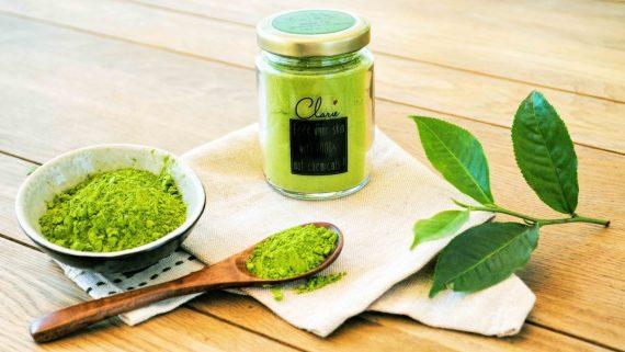 Mặt nạ mật ong, nghệ và bột trà xanh