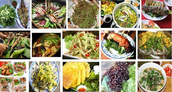 món ăn đặc sản vùng miền