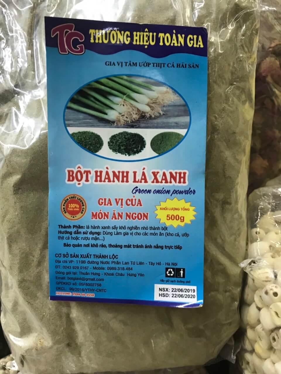 bot-hanh-la-xanh